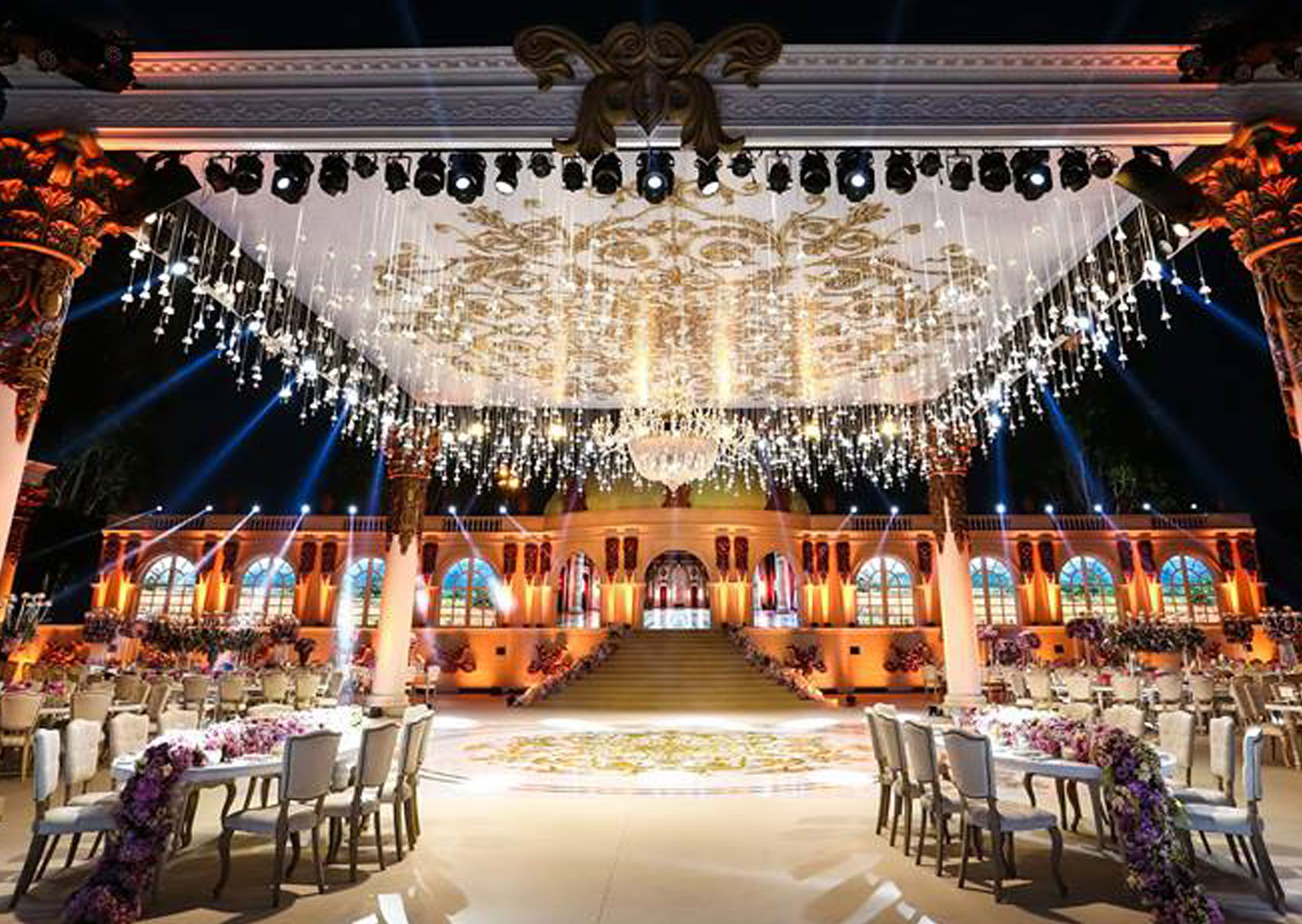 Light Lux - Harriri Wedding - Developed By: 4MADSolutions