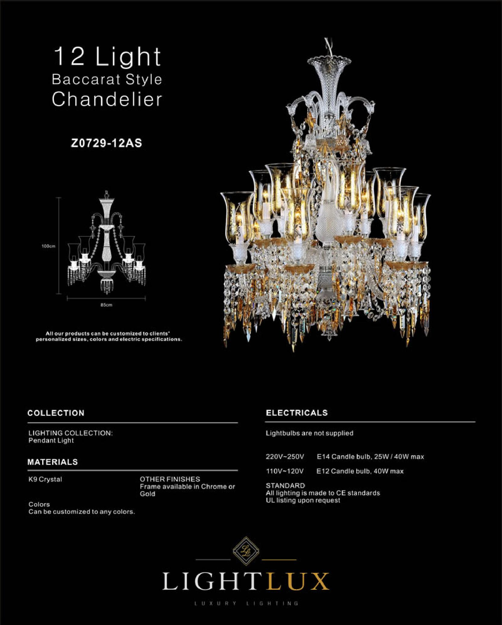 Light Lux - Chandelier Rental